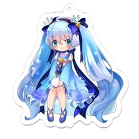 Key Chain - VOCALOID / Miku & Snow Miku