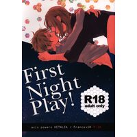 [Boys Love (Yaoi) : R18] Doujinshi - Hetalia (First Night Play!) / beryl