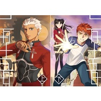 Doujinshi - Fate/stay night / Shirou & Rin & Caster & Archer (二月十五日(上)(下)) / Destruction