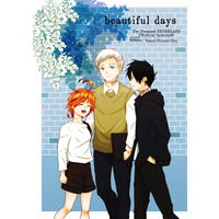 Doujinshi - The Promised Neverland / Emma & Norman & Ray (beautiful days) / にじぎん