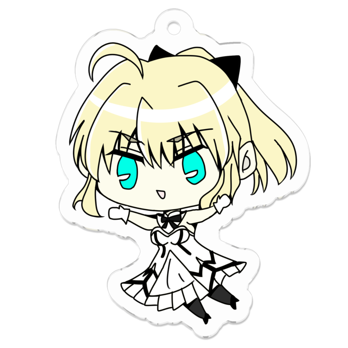 Key Chain - Fate/Grand Order / Saber & Saber Lily