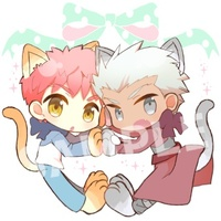 Key Chain - Fate/stay night / Shirou & Archer
