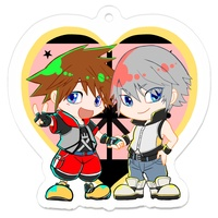 Key Chain - KINGDOM HEARTS / Sora & Riku