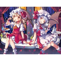 Tapestry - Touhou Project / Flandre & Remilia