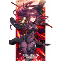 Doujinshi - Illustration book - Compilation - Fate/Grand Order / Rin & Scathach & Okita Souji & Jeanne d'Arc (Alter) (Fate Sketch Collections) / でぶねこ