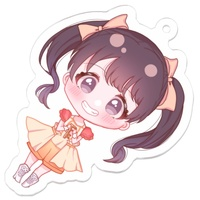 Key Chain - IM@S: Cinderella Girls / Miria Akagi