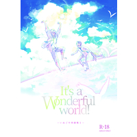 [Boys Love (Yaoi) : R18] Doujinshi - Novel - Omnibus - Haikyuu!! / Bokuto Koutarou x Akaashi Keiji (It's a wonderful world!) / いぬごや
