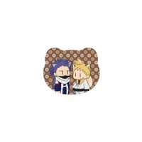 Badge - My Hero Academia / Shinsou Hitoshi & Ojiro Mashirao