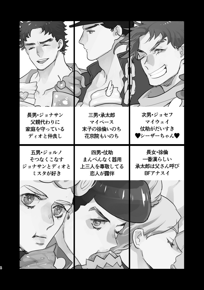 Doujinshi - All Series (Jojo) / Giorno x Mista (JOKERsSTAR!2) / Flagments