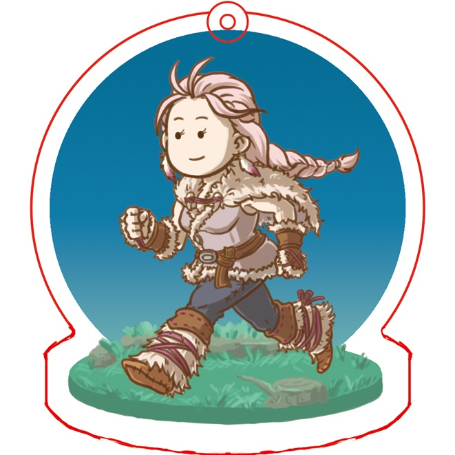 Key Chain - OCTOPATH TRAVELER / H'aanit