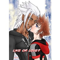 [Boys Love (Yaoi) : R18] Doujinshi - KINGDOM HEARTS / Bunjaku (LIKE OR LOVE?) / mmjunsui