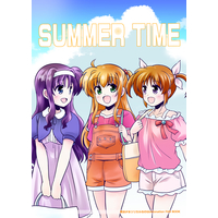 Doujinshi - Magical Girl Lyrical Nanoha / Nanoha & Alisa Bannings & Tsukimura Suzuka (SUMMER TIME) / Kageneko.