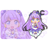 Card Stickers - Star☆Twinkle Precure