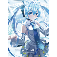 Doujinshi - Illustration book - VOCALOID / Miku & Snow Miku (SNOW MEMORIES) / Korokoro Udon