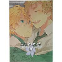 [Boys Love (Yaoi) : R18] Doujinshi - Hetalia / America x United Kingdom (エニイタイム) / Hagi