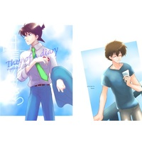 Doujinshi - Novel - Meitantei Conan / Kuroba Kaito x Kudou Shinichi (They of a diary) / leaves