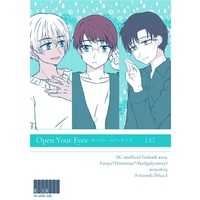 [Boys Love (Yaoi) : R18] Doujinshi - Novel - Meitantei Conan / Scotch & Amuro Tooru & Akai Shuichi (Open Your Eyes[上]) / A-records.