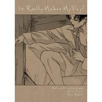 [Boys Love (Yaoi) : R18] Doujinshi - Shingeki no Kyojin / Erwin x Levi (It Really Makes My Day!) / えすさいず二号