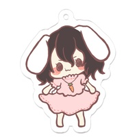 Key Chain - Touhou Project / Inaba Tewi