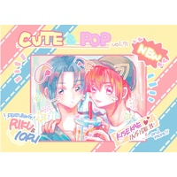 Doujinshi - Illustration book - IDOLiSH7 / All Characters (CUTE&POP(イラスト集)) / gyuuunyuuuclub