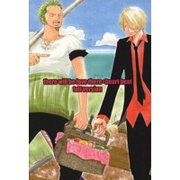 Doujinshi - ONE PIECE / Zoro x Sanji (there will be love there +heart beat full version) / sonicboom