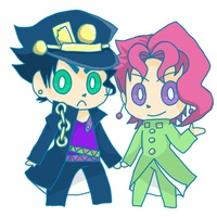 Key Chain - Jojo Part 3: Stardust Crusaders / Jyoutarou & Kakyouin