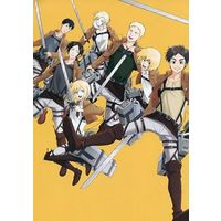 Doujinshi - Illustration book - Shingeki no Kyojin / All Characters (DRAW) / えれぽっぷ