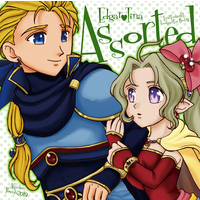 Doujinshi - Final Fantasy VI / Edgar Roni Figaro & Tina (Final Fantsy Series) (Assorted) / Affection