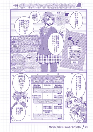 Doujinshi - Love Live / A-RISE (MUSE meets BALLPEN GIRL) / ゲンワクキネマ
