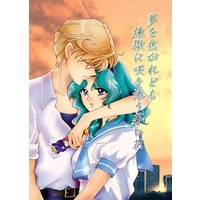 Doujinshi - Novel - Sailor Moon / Tenou Haruka (Sailor Uranus) & Kaiou Michiru (Sailor Neptune) (夢を焦がれども 煉獄に咲き添う蒼い花) / 渋谷BRAND