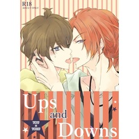 [Boys Love (Yaoi) : R18] Doujinshi - Tsukipro (Tsukiuta) / Haduki You x Nagatsuki Yoru (Ups and Downs) / passacaglia