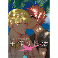[Boys Love (Yaoi) : R18] Doujinshi - Fate/stay night / Gilgamesh x Shirou Emiya (ハネムーン7日間南の島で子作り性活) / どくぬま