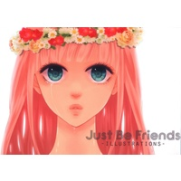 Doujinshi - Illustration book - VOCALOID (Just Be Friends -ILLUSTRATIONS- *イラスト集 *CD-ROM付) / 何処