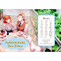 Doujinshi - Illustration book - Anthology - UtaPri / Camus x Haruka Nanami (dolcemente Tea Time) / nPe