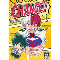 [Boys Love (Yaoi) : R18] Doujinshi - Novel - My Hero Academia / Midoriya Izuku x Todoroki Shouto (CHANGE!!) / switchOFF