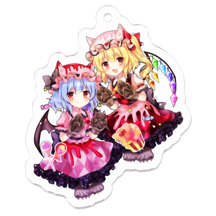 Key Chain - Touhou Project / Flandre & Remilia