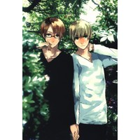[Boys Love (Yaoi) : R18] Doujinshi - Hetalia / America x United Kingdom (About Us) / なぱ