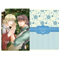 [Boys Love (Yaoi) : R18] Doujinshi - Novel - TIGER & BUNNY / Barnaby x Kotetsu (Will you marry me?) / PinotGris