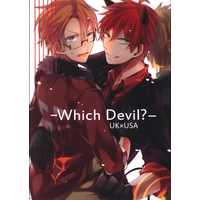 Doujinshi - Hetalia / America x United Kingdom (Which Devil?) / Oops!