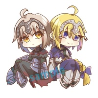 Key Chain - Fate/Grand Order / Jeanne d'Arc & Jeanne d'Arc (Alter)