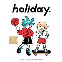 Doujinshi - Illustration book - Promare / Galo & Lio (holiday.) / KAISEN