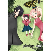 Doujinshi - NARUTO / Sasuke x Sakura (pledge and) / まめ小屋