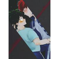 [Boys Love (Yaoi) : R18] Doujinshi - My Hero Academia / Todoroki Shouto x Midoriya Izuku (previous) / 爆走ワールド