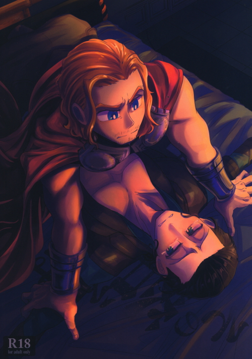 [Boys Love (Yaoi) : R18] Doujinshi - The Mighty Thor / Thor x Loki (その答えは特別 ☆マ●ティ・ソー) / Yummy food