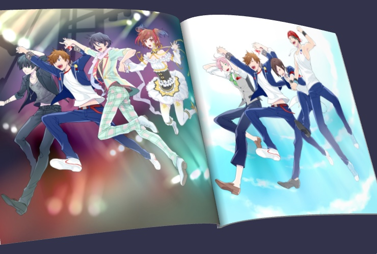 Doujinshi - Illustration book - Band Yarouze! (Banyaro!) / Fairy April & OSIRIS & BLAST & Freezing (バンやろ! イラスト本) / cacao