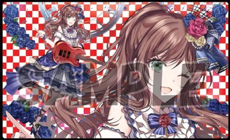 Card Game Playmat - BanG Dream! / Imai Risa