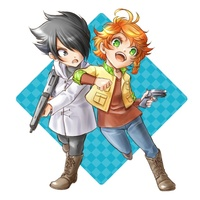 Strap - The Promised Neverland / Emma & Ray