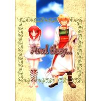 Doujinshi - Magi / Alibaba Saluja x Morgiana (And they) / Apricot*Jam