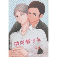 [Boys Love (Yaoi) : R18] Doujinshi - Novel - Haikyuu!! / Sawamura x Sugawara (微炭酸少年) / Riese