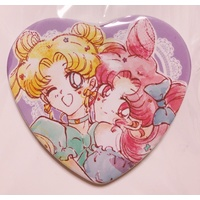 Badge - Sailor Moon / Sailor Moon & Chibiusa (Sailor Chibi Moon)
